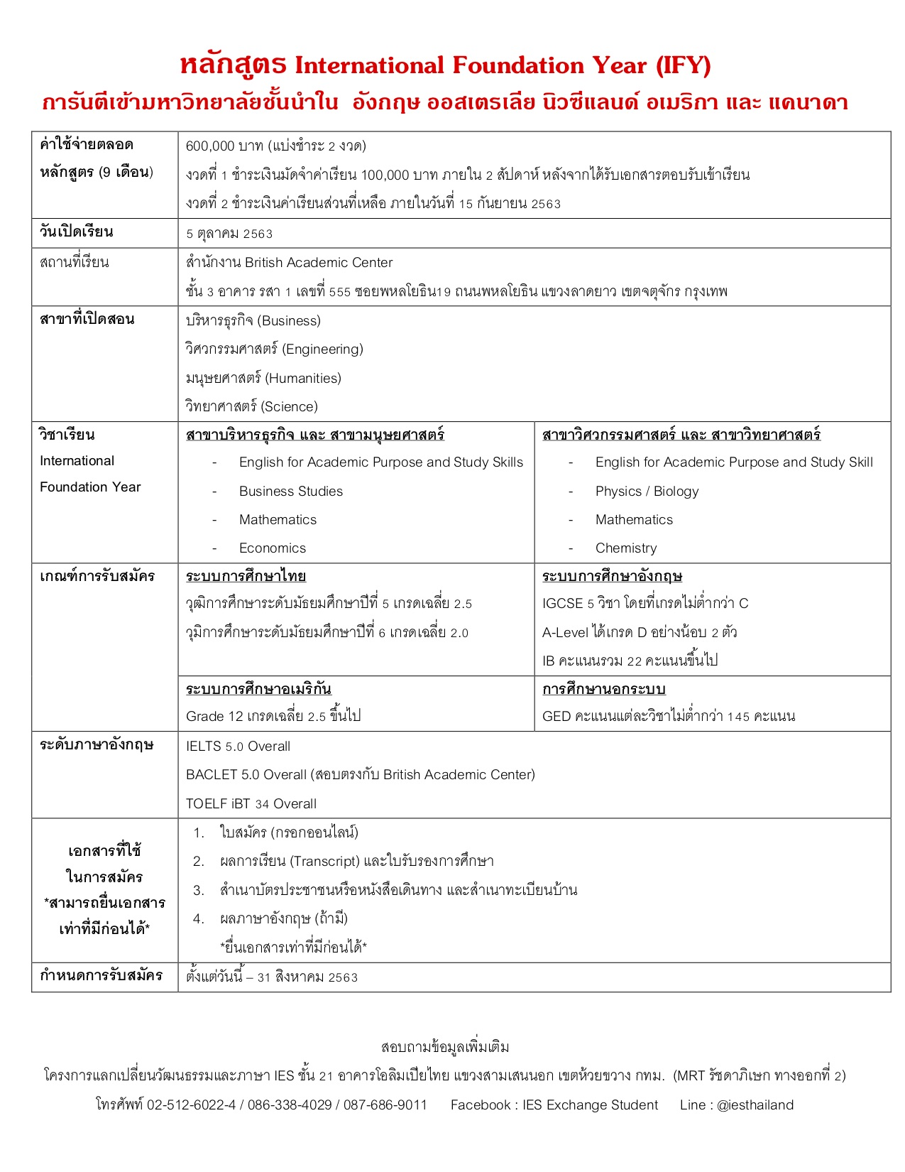 IFY Information-3